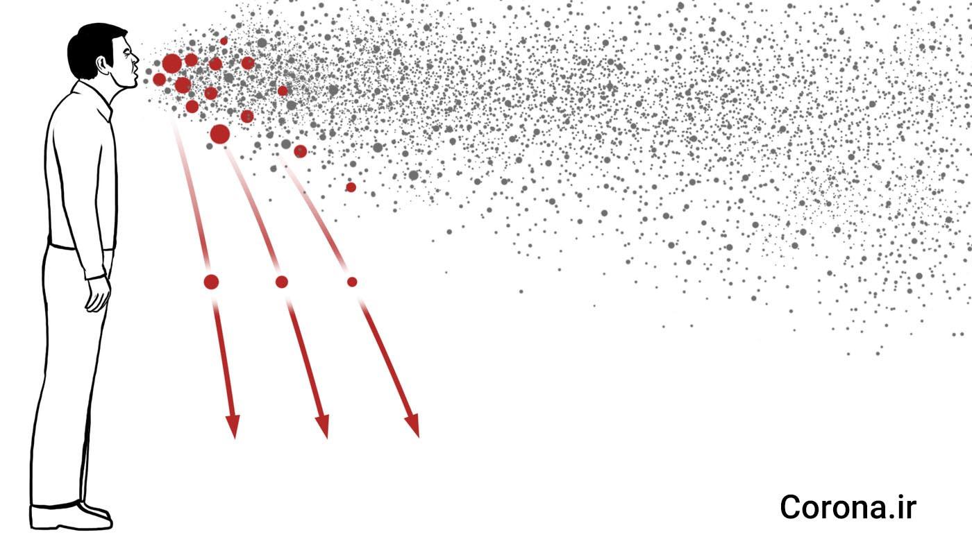 ویروسها چگونه بین افراد منتقل میشوند؟ یک شبیهسازی جالب